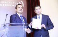 Nombra Gobernador a Israel Patrón como secretario de Seguridad Pública de Michoacán