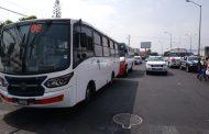Transportistas no ven avances en retiro de rutas foráneas de zona urbana