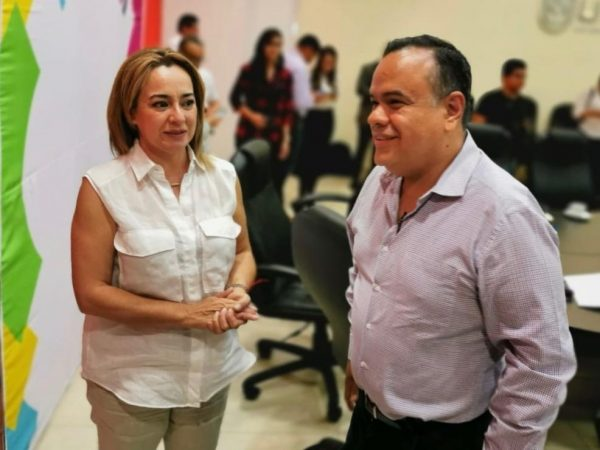Alcalde de Ecuandureo se reunió con titular de Turismo del Estado