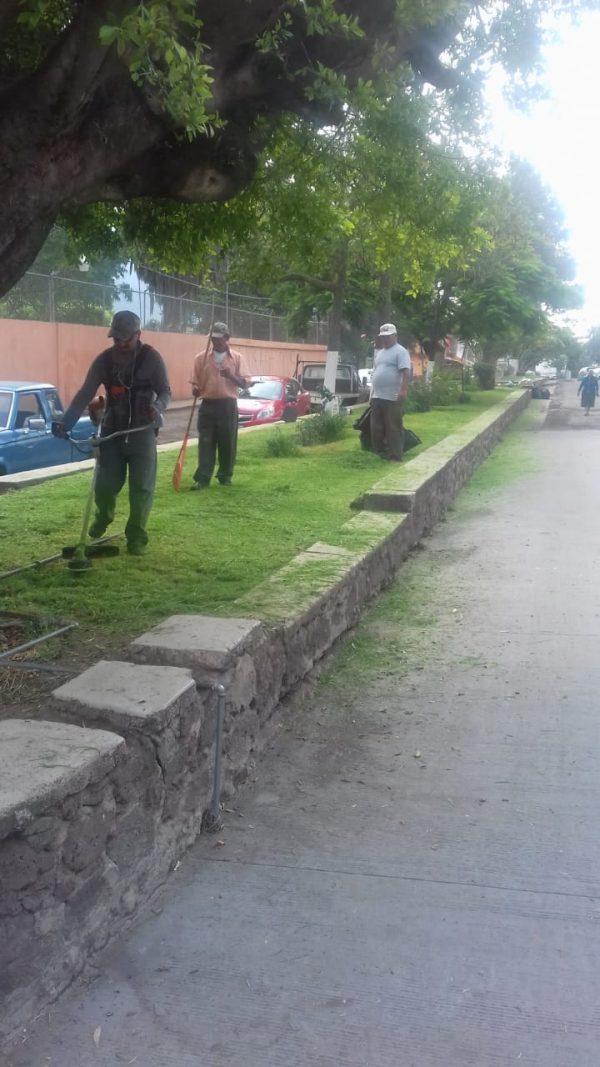 Vecinos y autoridad de El Platanal agradecen apoyo del ayuntamiento