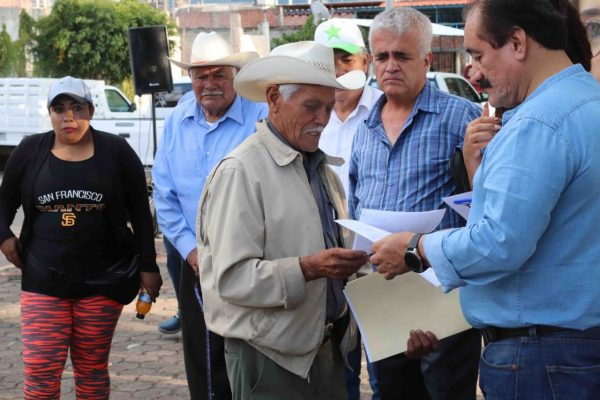 Presidente Municipal Martín Samaguey y Diputada local Tere Mora, iniciaron gira de trabajo por las comunidades del Municipio