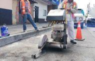 Gobierno Municipal inició obra de sustitución de la red de agua potable