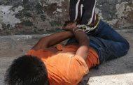 Vecinos capturan y amarran a un presunto ladrón en Zamora