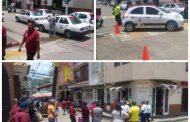 Se enfrentan taxistas en Chilchota