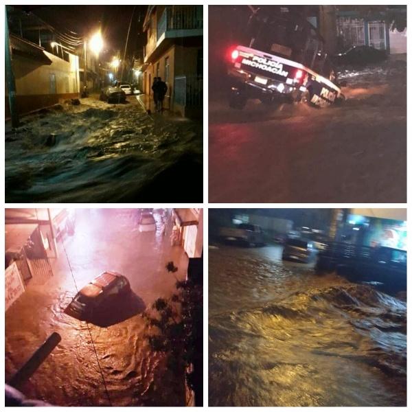 Los Reyes bajo el agua, decenas de autos dañados y múltiples inundaciones