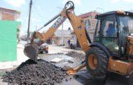 SAPAZ realiza reparación de red de drenaje del cárcamo Las Palmas