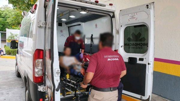 Dos hermanos son baleados en El Platanal de Jacona