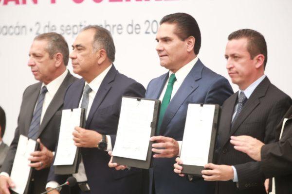 Michoacán y Guerrero, juntos por un modelo de desarrollo para la región del Balsas