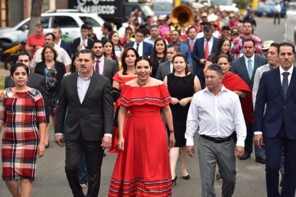 COMENZARON LOS FESTEJOS PATRIOS EN JACONA