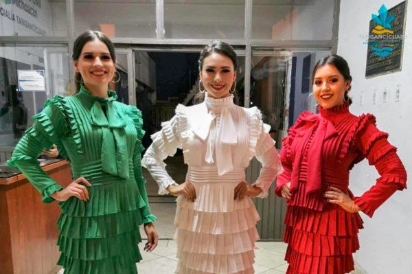 Dan a conocer candidatas a Reina de las Fiestas Patrias Tangancícuaro 2019