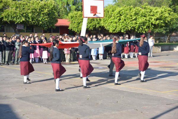 Celebran el 51 Aniversario de la Secundaria No.1 Francisco J. Mújica