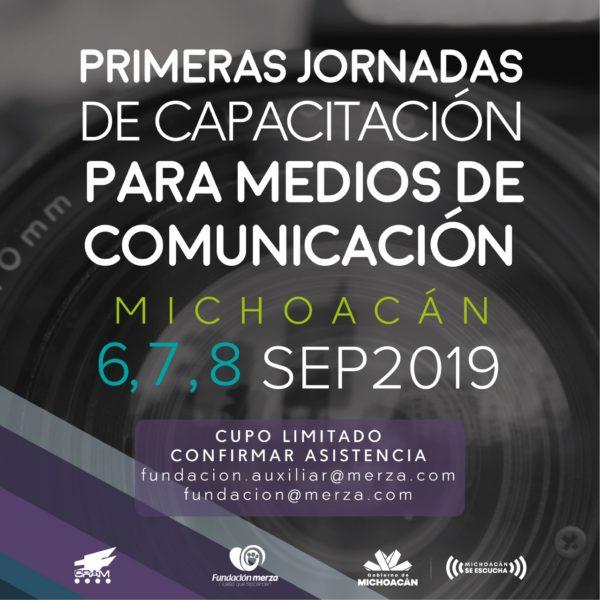 Este fin de semana, Primeras Jornadas de Capacitación para Medios de Comunicación Michoacán en Zamora