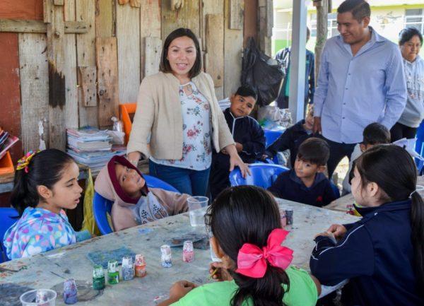 Promueven interés por la cultura entre pequeños de Tangancícuaro