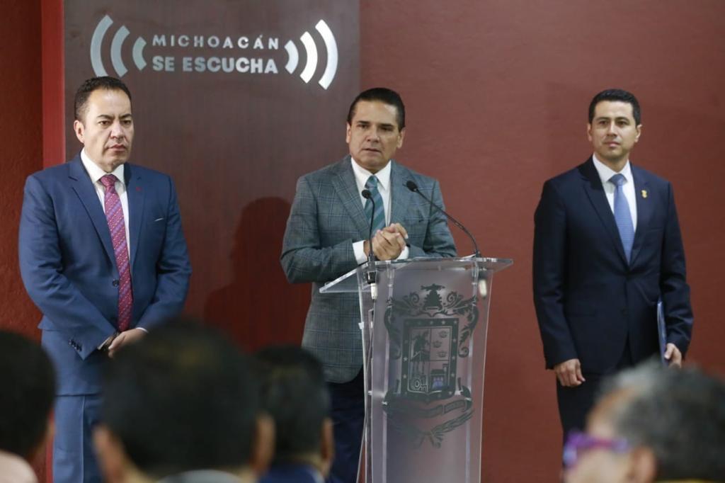 Triplica Michoacán Estado de Fuerza y fortalece infraestructura policial