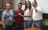 Presidente Martín Samaguey y Diputada Tere Mora apoyan fiestas patrias de la Tierras Blancas
