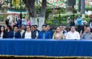 Recuerdan en Tangancícuaro a víctimas de sismos de 1985 y 2017