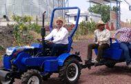 Apuesta gobierno de Ixtlán a mecanización del campo