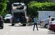 Joven es atropellado por camión recolector de basura y muere