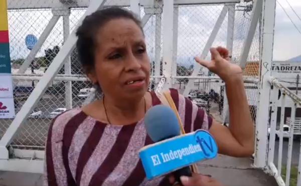 Zamoranos aún no toman conciencia para usar puentes peatonales