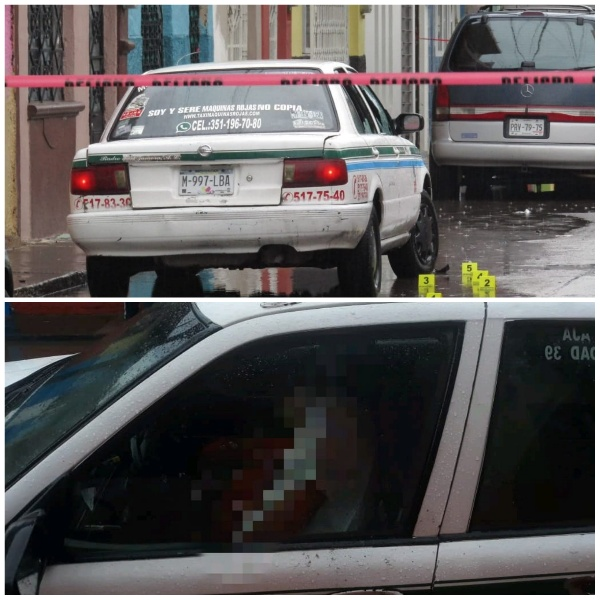 Taxista es asesinado a balazos en Zamora