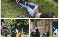 Enfrentamiento entre policías y sicarios deja 2 presuntos delincuentes muertos y uno herido