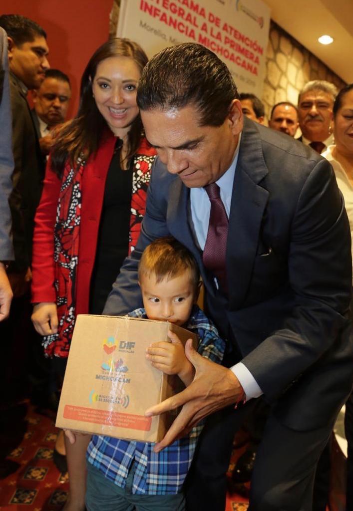 Arranca Silvano Aureoles Programa de Atención Integral a la Primera Infancia en Michoacán