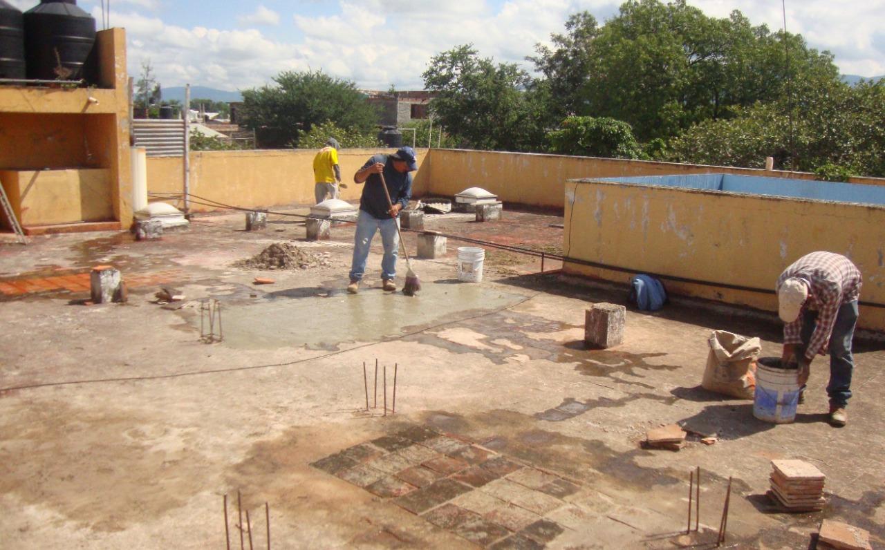 Continúan trabajos de mantenimiento en la UBR Jacona