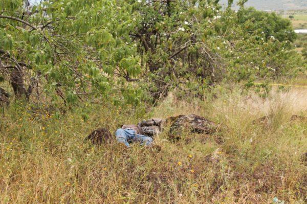 Localizan dos asesinados en estado de putrefacción en Jacona