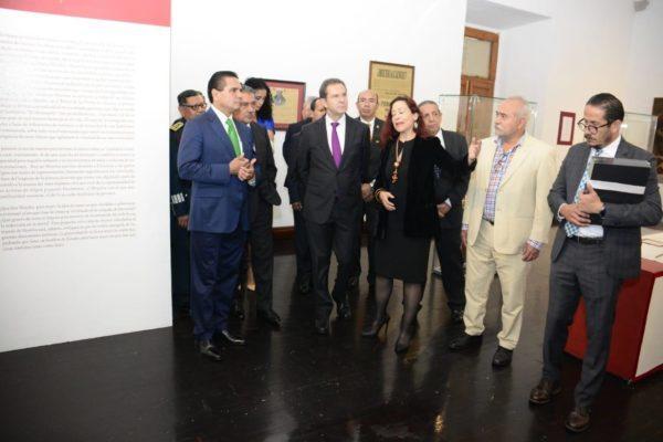 Exhiben legado histórico y patrimonial de José María Morelos