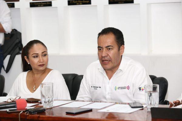 """Pedirá Michoacán declaratoria de emergencia por afectaciones por """"Narda"""": Carlos Herrera"""