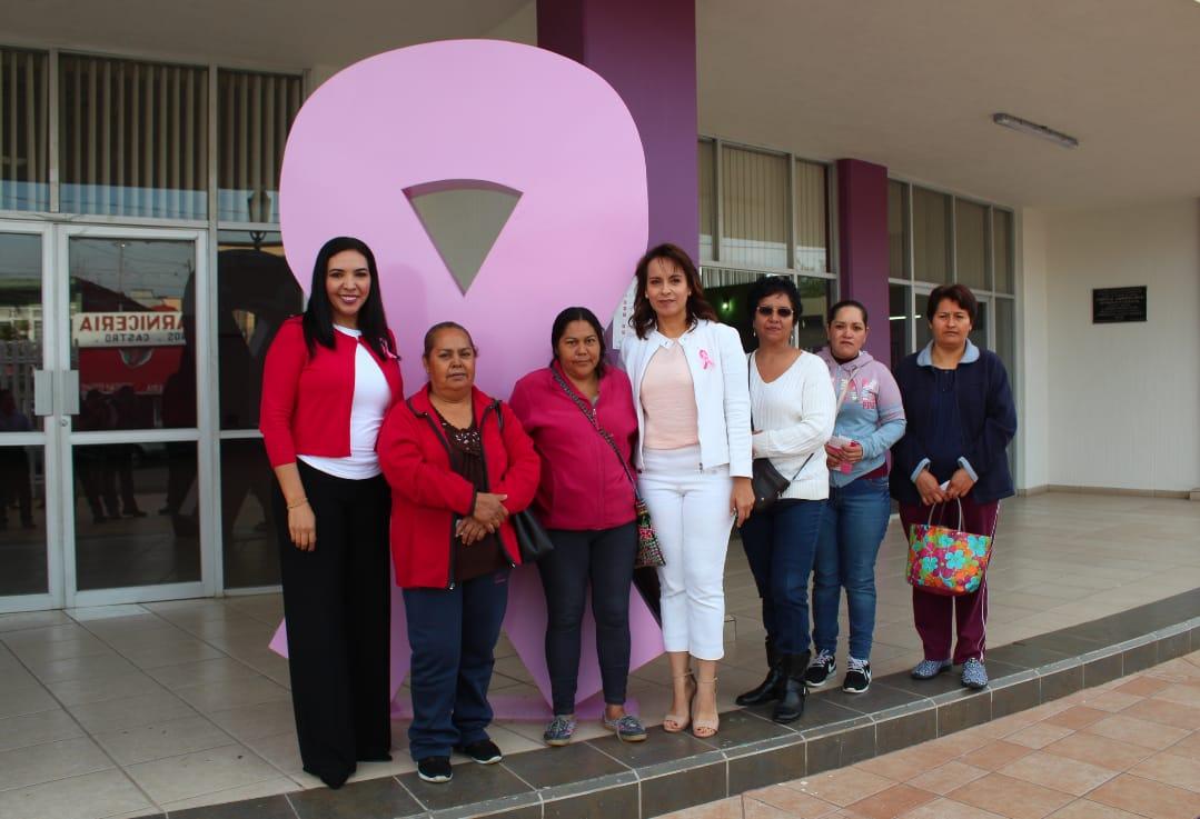 Se Inician Actividades por el Mes Rosa, en la Lucha y Prevención del Cáncer de Mama