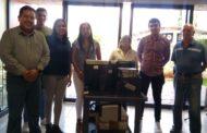 Biblioteca de Jacona recibió de Agrana dotación de equipos de cómputo