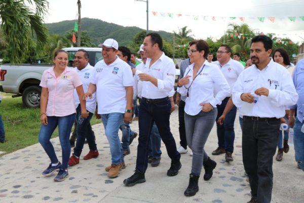 """Gobierno estatal atiende afectaciones por """"Narda"""""""