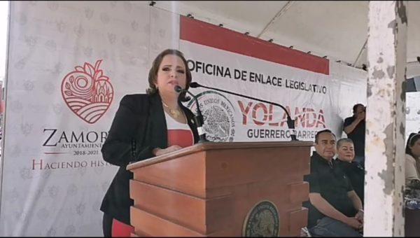 Yolanda Guerrero recupera edificio y habilita albergue para indigentes