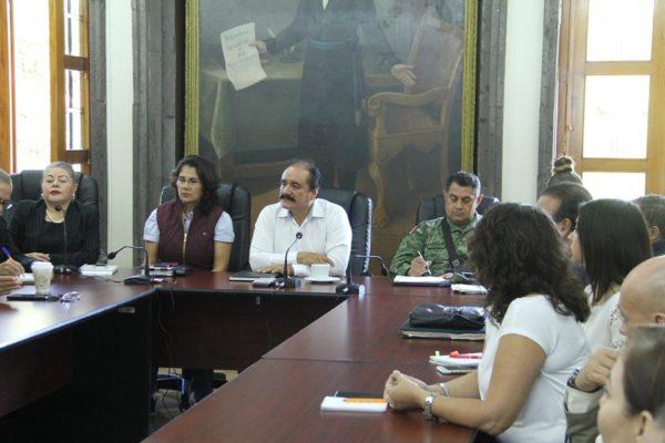 Es presentado el proyecto del Cuartel de la Guardia Nacional al Alcalde Martín Samaguey