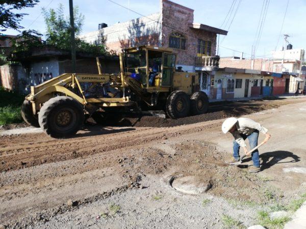 Gobierno local realizó mejoramiento en la calle Antequera