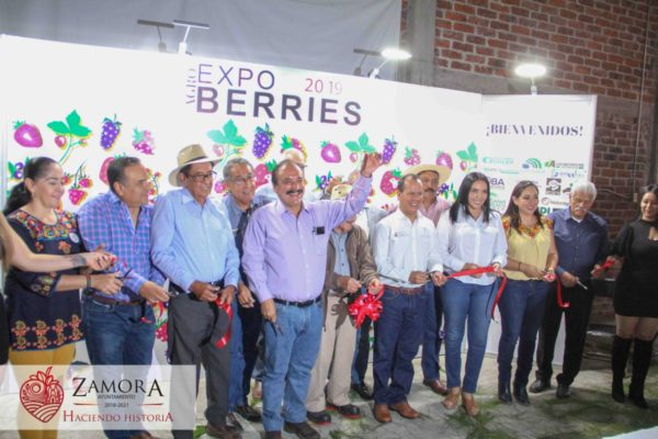 Martin Samaguey participa en la Expo berries Zamora 2019