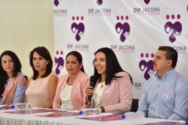 """ALCALDESA ADRIANA ANUNCIÓ ACTIVIDADES DE """"SEMANA ROSA"""" CONTRA EL CÁNCER DE MAMA"""