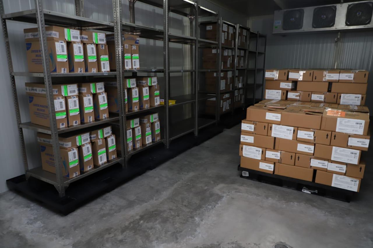 Llegan 209 mil dosis de vacuna contra la influenza a Michoacán
