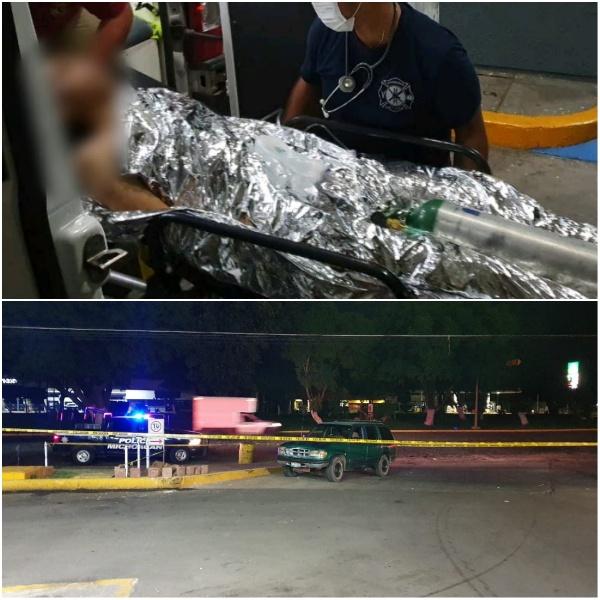 Balean a dos jóvenes y llegan a pedir ayuda a gasolinera de la calzada Zamora - Jacona