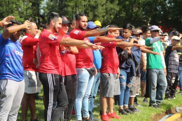 Inauguran la temporada 2019-2020 de la Liga Michoacana de futbol