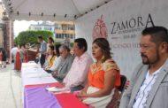 El Gobierno Municipal y la comunidad educativa celebraron el DXXVII aniversario del día de la Raza