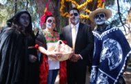 Altares, tapetes y colorido habrá en festival del cempasúchil del 1 y 2 de noviembre en Tangamandapio