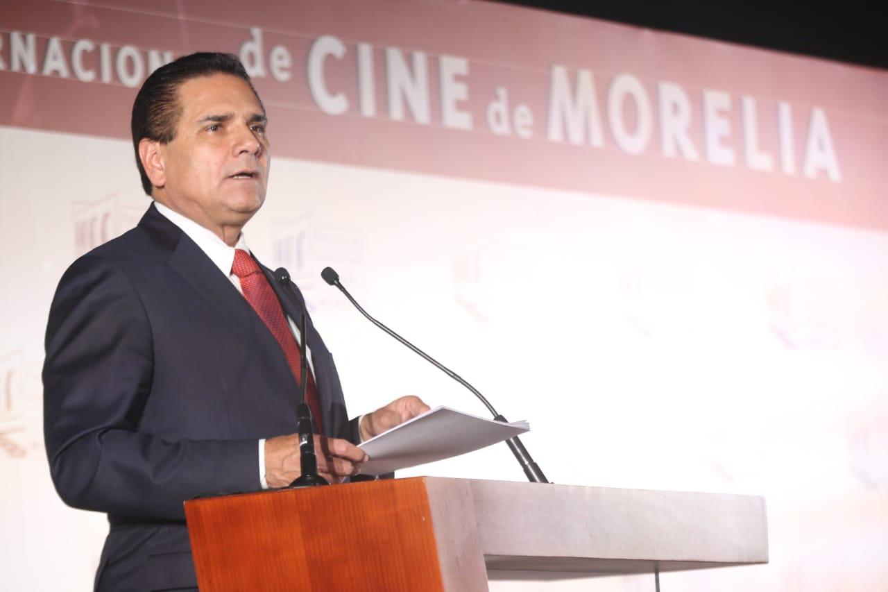 Cine, el arte más influyente: Silvano Aureoles