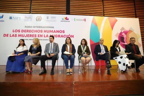Gobierno de Michoacán, suma esfuerzos a favor de mujeres migrantes