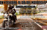 Celebrarán en Zamora el Día Internacional del Motociclista