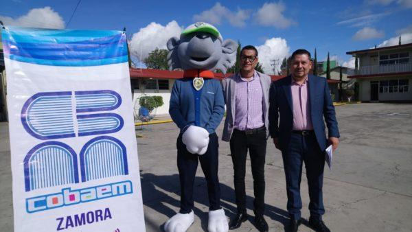 Con lanzamiento de un pico-satélite,  celebrará 29 años el COBAEM Zamora