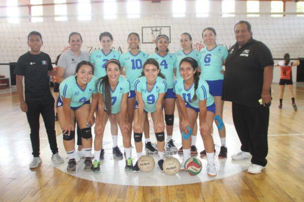 Apatzingán y Uruapan campeones del festival estatal de voleibol de sala de primera fuerza.