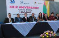 Celebración del 29 aniversario del COBAEM