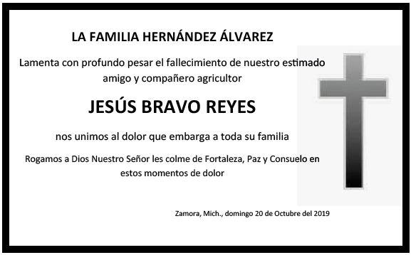 LA FAMILIA HERNÁNDEZ ÁLVAREZ FALLECIMIENTO